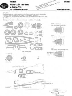 MiG-25 RBF EXPERT kabuki masks