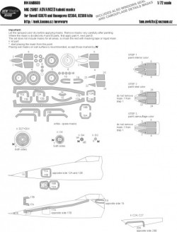 MiG-25 RBT ADVANCED kabuki masks