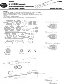 MiG-25 RBT EXPERT kabuki masks