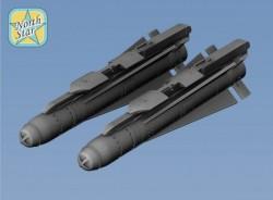 AGM65 Maverick + LAU-117/A Launcher 2pcs