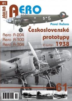 Československé prototypy 1938 Aero A-204,A-300,A-304