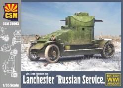 Lanchester Russian Service with 37mm Hotchkiss Gun