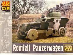 Romfell Panzerwagen
