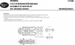 TA-4J/F, OA-4M Skyhawk BASIC kabuki masks