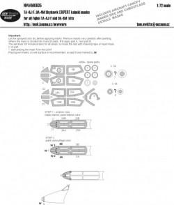 TA-4J/F, OA-4M Skyhawk EXPERT kabuki masks