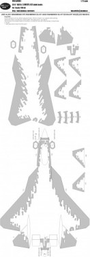 SU-57 DIGITAL CAMOUFLAGE kabuki masks