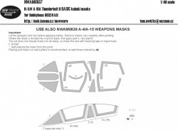 N/AW A-10 A Thunderbolt II BASIC kabuki masks