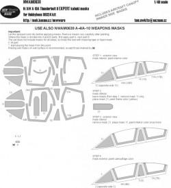 N/AW A-10 A Thunderbolt II EXPERT kabuki masks