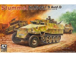 Sd.Kfz. 251/9 Ausf.D. early type