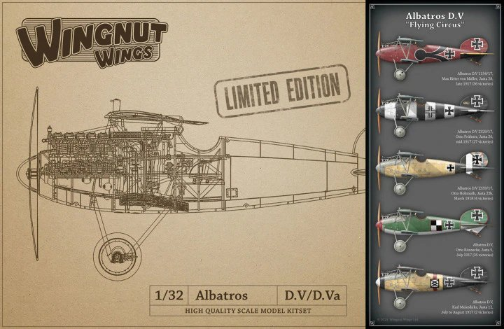 """Albatros D.V """"Flying Circus"""" - LIMITED EDITION"""