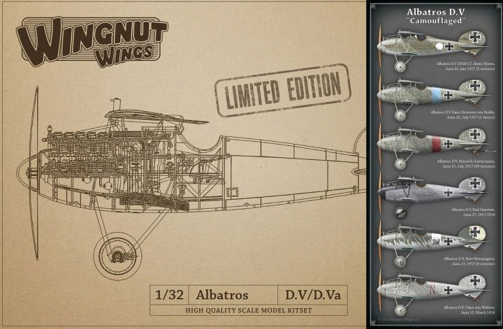 "Albatros D.V ""Camouflaged"" - LIMITED EDITION"