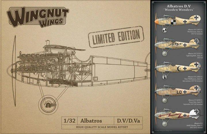 "Albatros D.V ""Wooden Wonders"" - LIMITED EDITION"