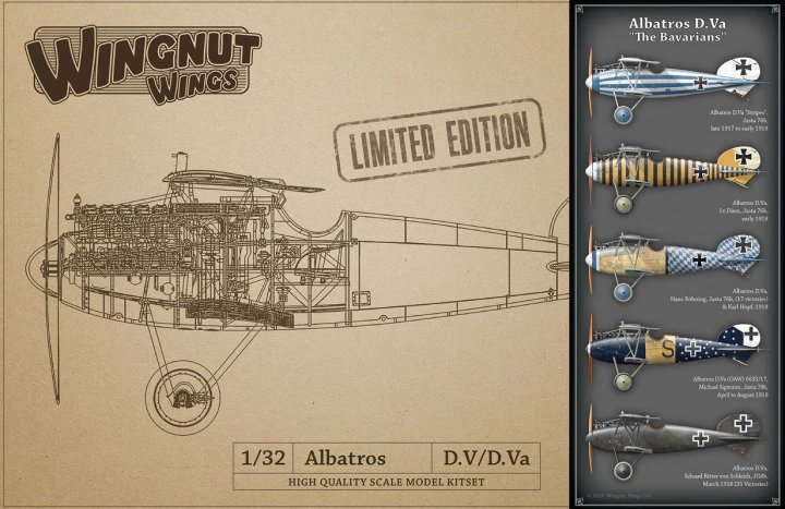 "Albatros D.V ""The Bavarians"" - LIMITED EDITION"