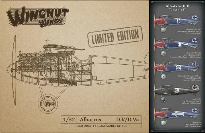 """Albatros D.V """"Jasta 18"""" - LIMITED EDITION"""