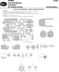 Ju 88D-1 BASIC kabuki masks