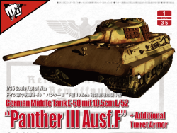 "German Middle Tank E-50 mit 10.5cm L/52 ""Panther III Ausf.F"""