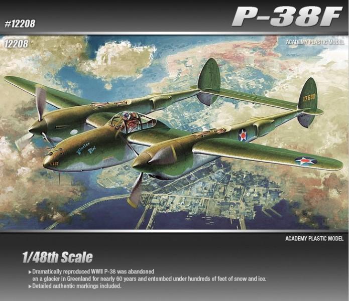 P-38F LIGHTNING GLACIER GIRL