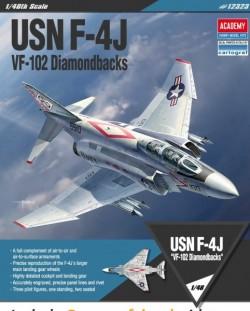 USN F-4J VF-102 Diamondbacks