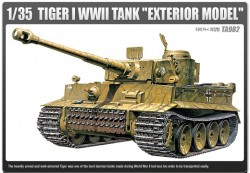 "TIGER-I WWII TANK ""EARLY-EXTERIOR MODEL"