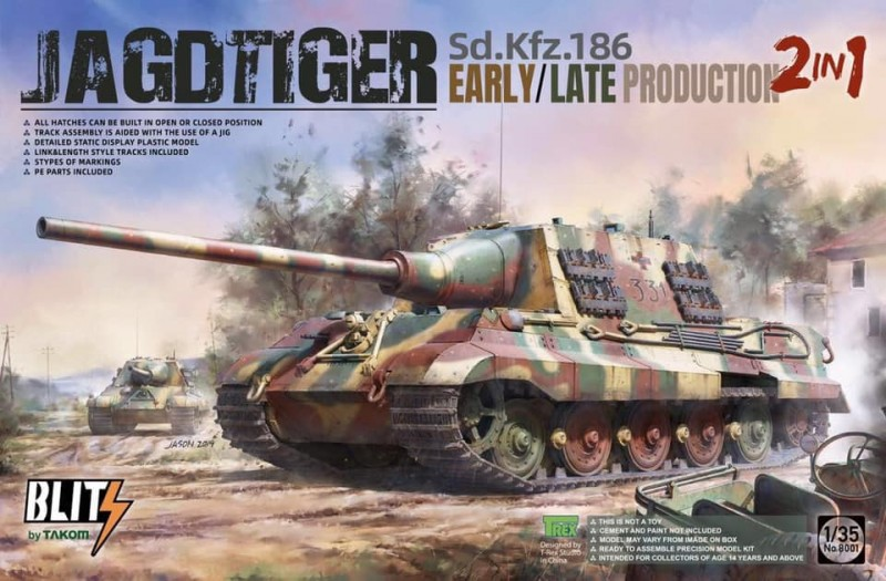 Jagdtiger early/ late 2in1 Sd.Kfz.186
