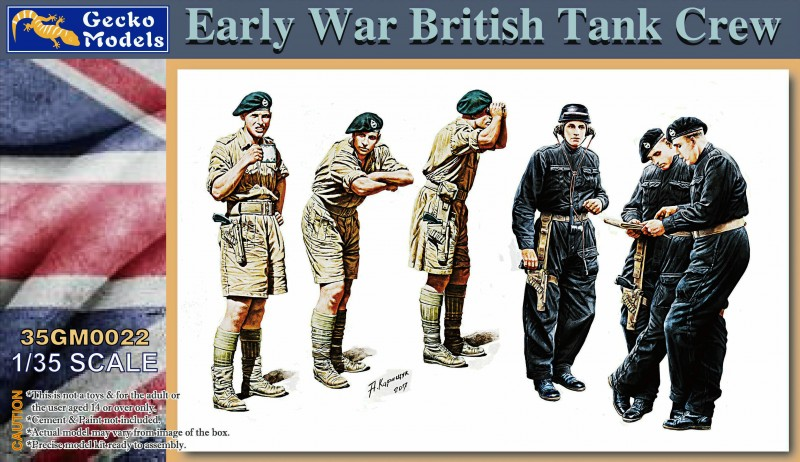 Early War British Tank Crew