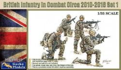 British Infantry in Combat 2010-18 Set 1
