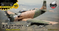 Douglas A-1J Skyraider U.S Air Force with U.S Aircraft Weapons 2