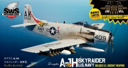 Douglas A-1H Skyraider U.S Air Force with U.S Aircraft Weapons