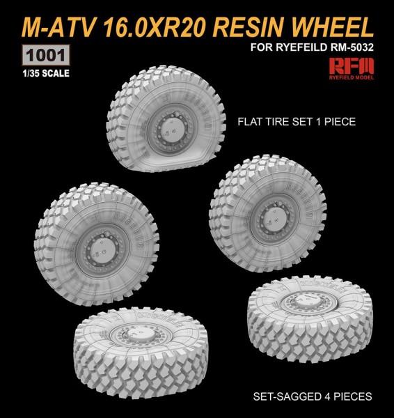 M-ATV 16.0XR20 RESIN WHEEL