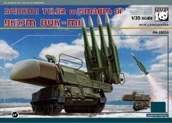 9A310M1 Telar w/9M38M of 9K37M BUK-M1, metal tracks
