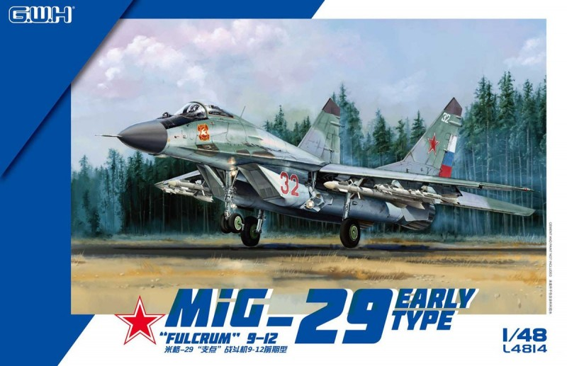 "MIG-29 9-12 Early Type ""Fulcrum"""