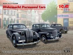 Wehrmacht Personnel Cars(Kadett K38 Salo Kapitan Saloon,Admiral Saloon)