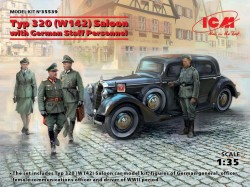 Typ 320 (W142) Saloon with German Staff Personnel, Limited