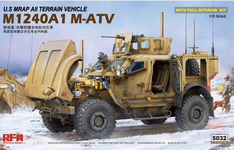 M-ATV (MRAP ALL TERRAIN VEHICLE) M1024A1