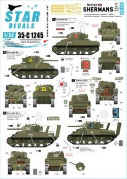 British Shermans. 75Th
