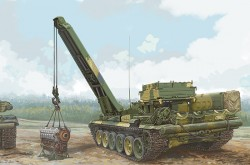 Russian BREM-1 Armoured Recovery Vehicle