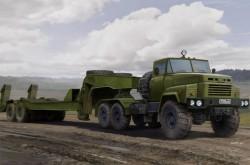 Russian KrAZ-260B Tractor with CMAZ/ChMZAP-5247G semitrailer