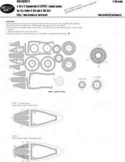 A-10 A/C Thunderbolt II EXPERT kabuki masks