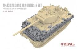 M4A3 Sandbag Armor Set (Resin)