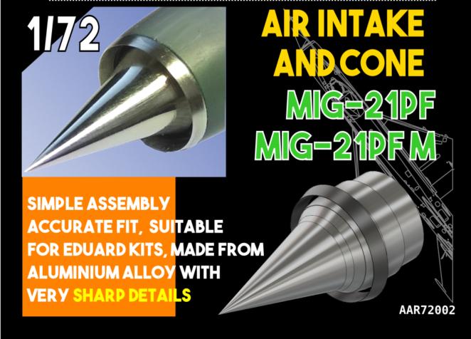 Air Intake and Cone MiG-21 PF, PFM