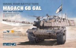 Israel Main Battle Tank Magach 6B GAL