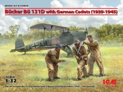 Bücker Bü 131D w.German Cadets( 1939-45)