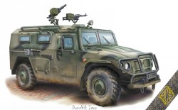 STS Tiger 233014 armored vehicle