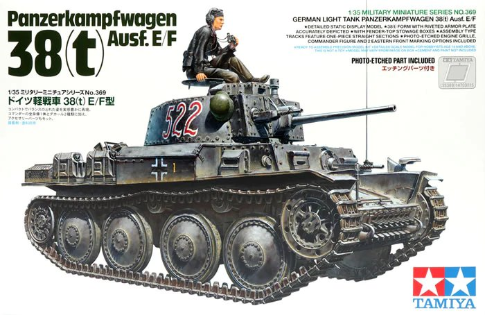 Pz.Kpfw.38(t) Ausf. E/F