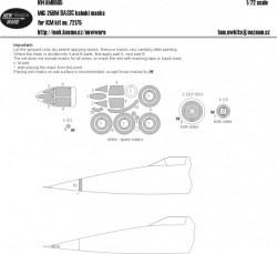 MiG-25BM BASIC kabuki masks