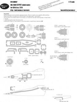 MiG-25BM EXPERT kabuki masks