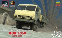 Russian Modern 4x4 Military Cargo Truck mod.4350 LIMITED EDITION