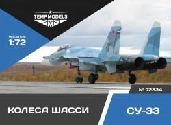 Su-33 wheels set