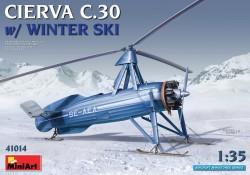 Cierva C.30 with Winter Ski
