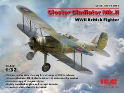 Gloster Gladiator Mk.II, WWII British Fighter